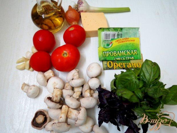 Рецепт Пицца грибная