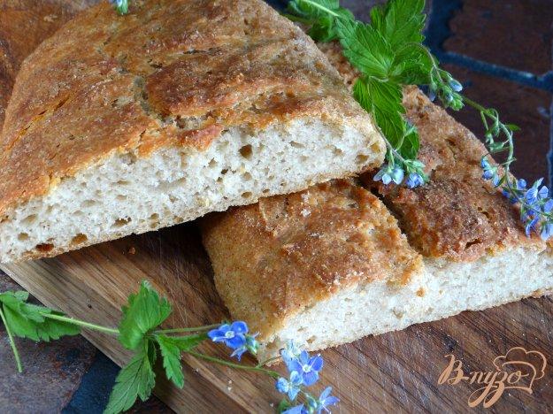 фото рецепта: Быстрый хлеб с добавлением ржаной муки