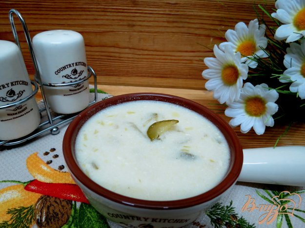 фото рецепта: Суп из огурцов