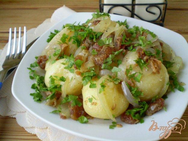 фото рецепта: Молодой картофель по-украински