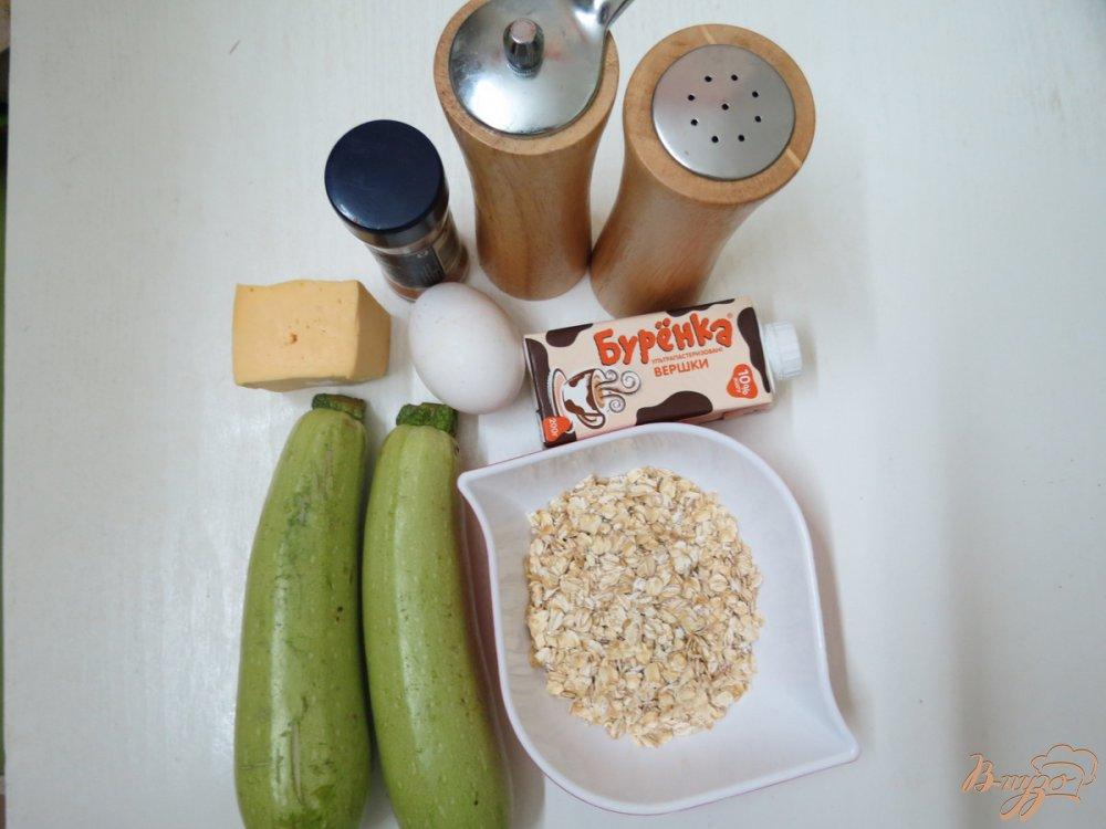 Рецепт Суфле из кабачков с черри и сливками