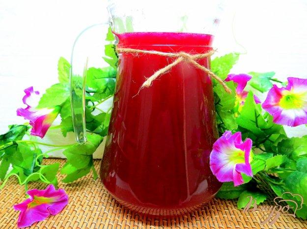 фото рецепта: Напиток из свеклы и лимона