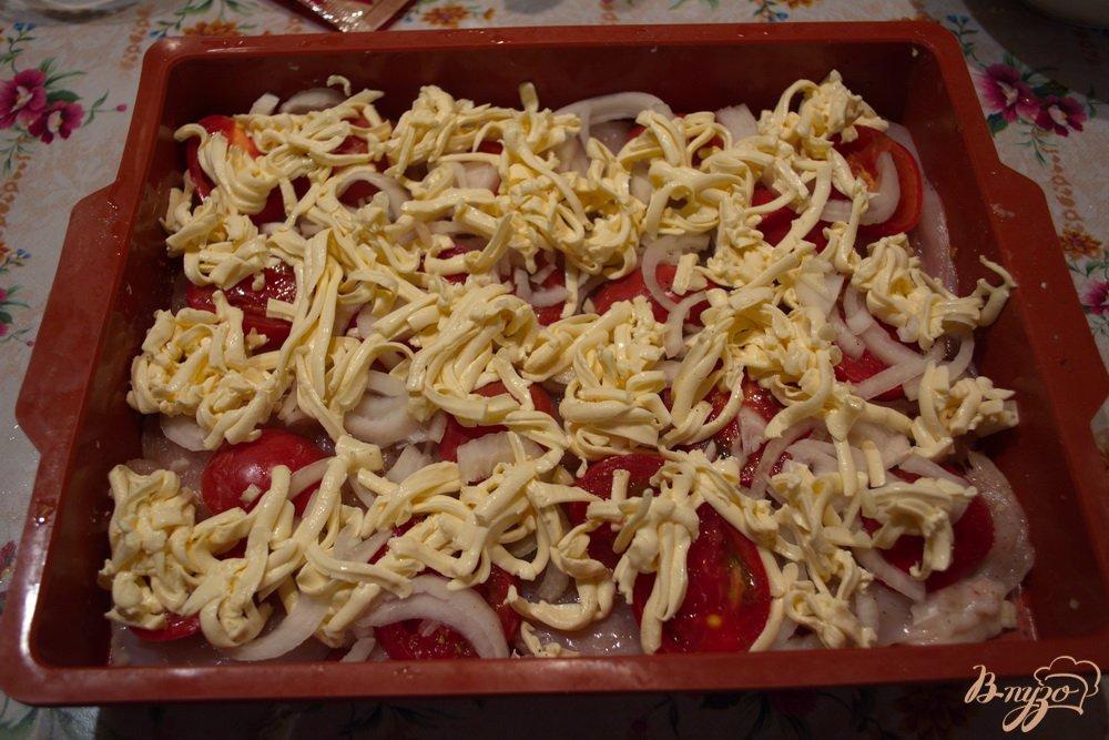 отбивные с грибами и помидорами в духовке рецепт
