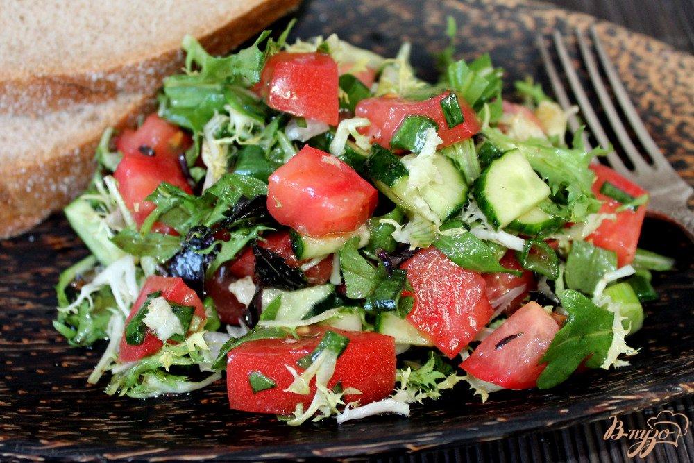 Салат помидорами рецепт с
