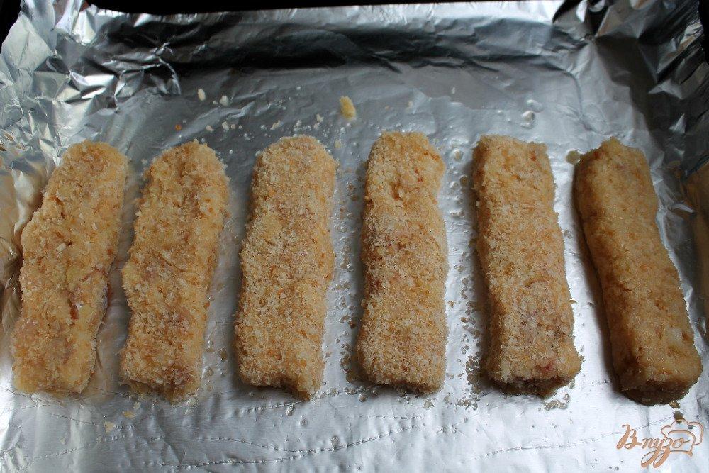 Рыбные палочки в духовке