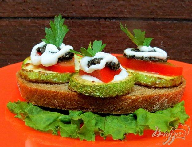 фото рецепта: Закуска из кабачков с оливками