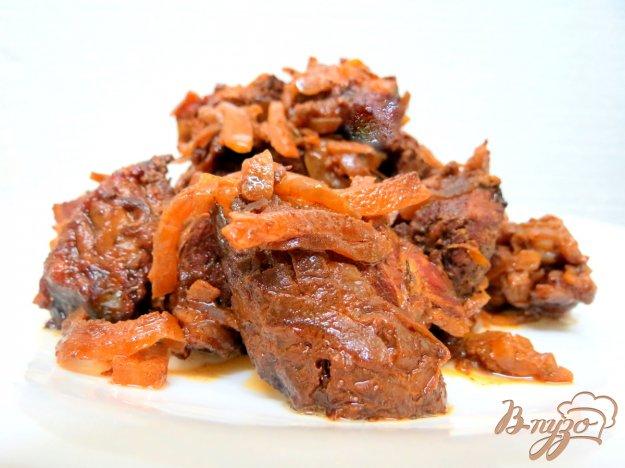 фото рецепта: Свинина запеченная в рукаве
