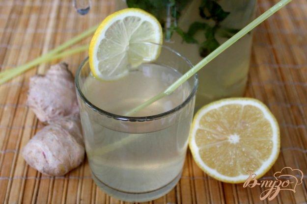 фото рецепта: Напиток с имбирем и лимоном