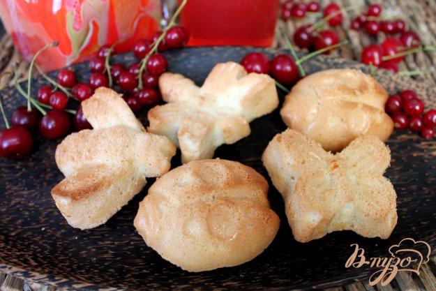 Бисквиты в формочках рецепт
