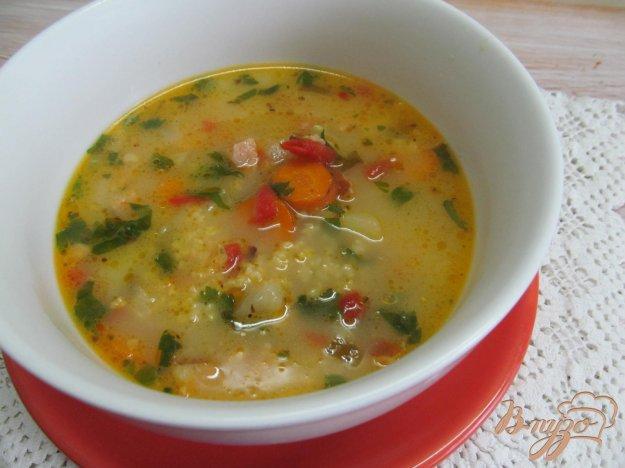 фото рецепта: Быстрый суп на беконе