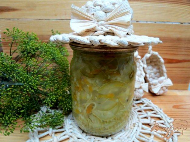 фото рецепта: Салат из кабачков на зиму