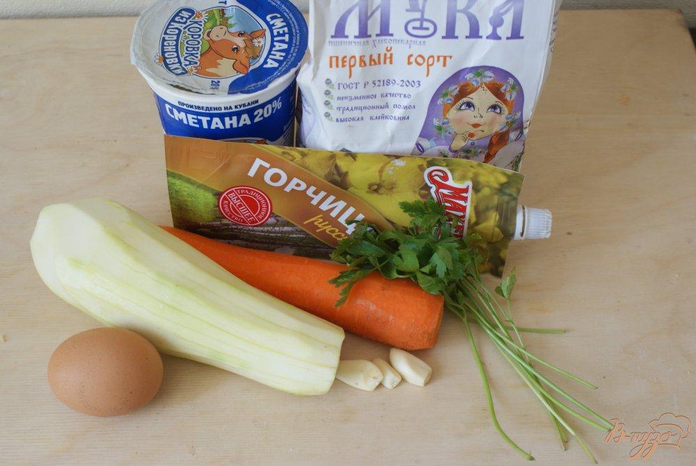 Рецепт Кабачковые оладьи с белым чесночным соусом