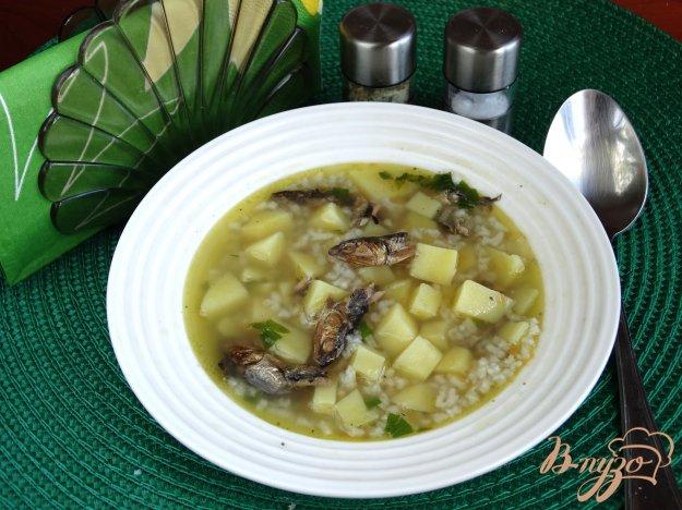 фото рецепта: Походный суп со шпротами