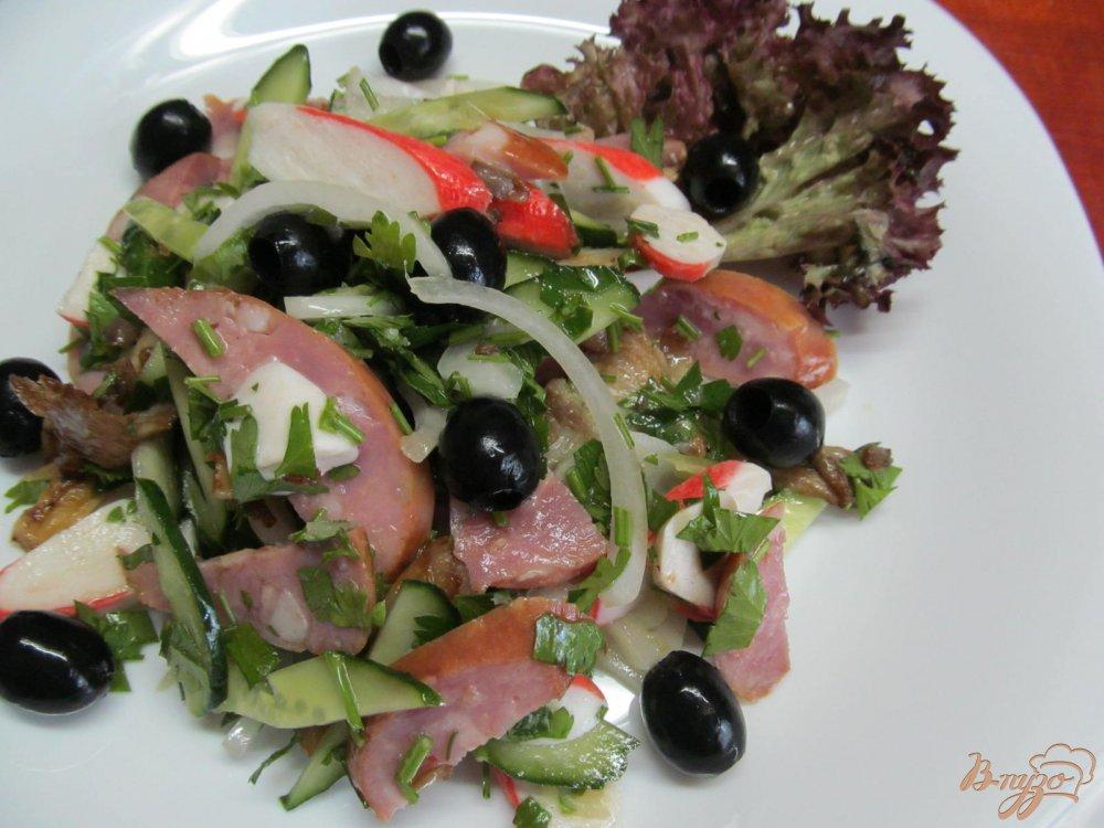 салат из крабовых палочек и морковки