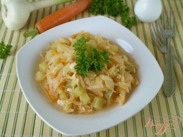 фото рецепта: Диетическое рагу без картофеля и жира