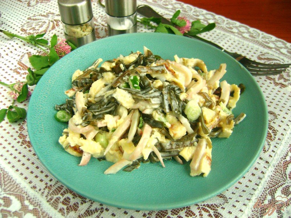 вкусные салаты с морской капустой рецепты