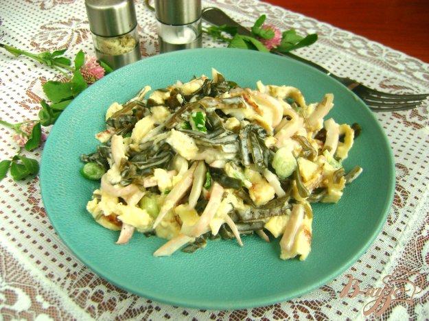Салат из морской капусты фото пошагово