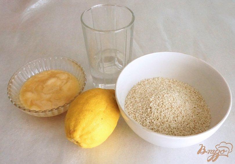 Рецепт Кунжутное мороженое с лимоном