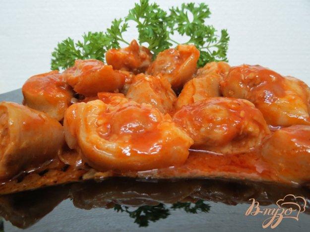 фото рецепта: Свиные хвостики в остром соусе