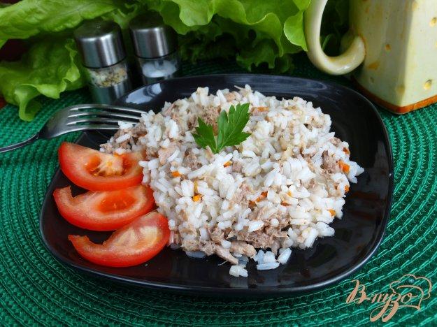 фото рецепта: Рис с индейкой и овощами