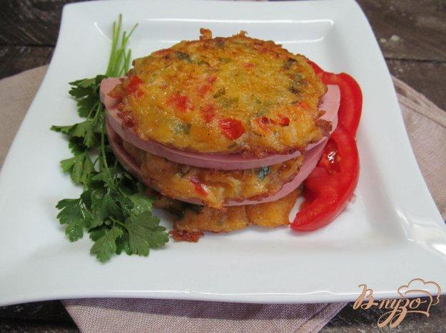 фото рецепта: Драники с овощами