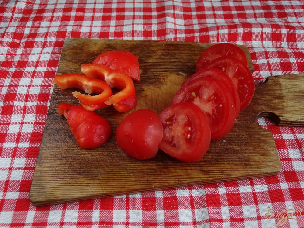 Фото приготовление рецепта: Рататуй запеченный с сыром шаг №6