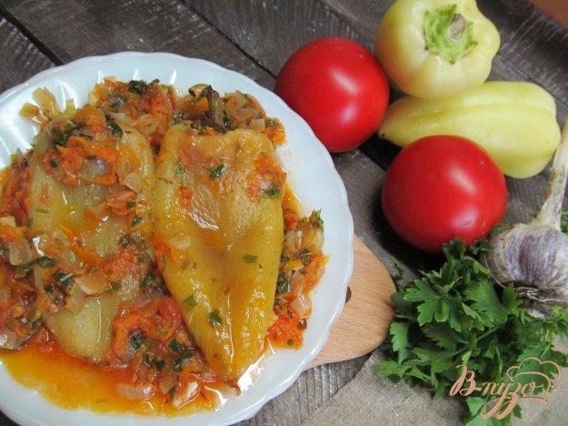 фото рецепта: Болгарский перец в овощах