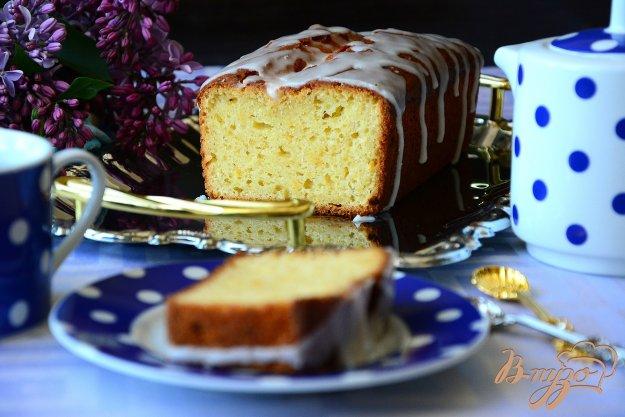 фото рецепта: Лимонный кекс с помадкой