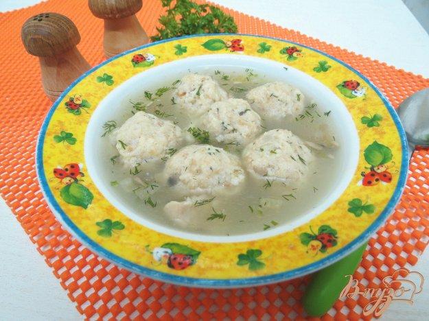 фото рецепта: Суп с кнедликами