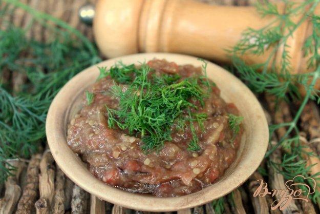 рецепт икры баклажанной запеченных в духовке