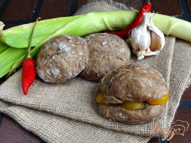 фото рецепта: Хлебные булочки с льняной мукой