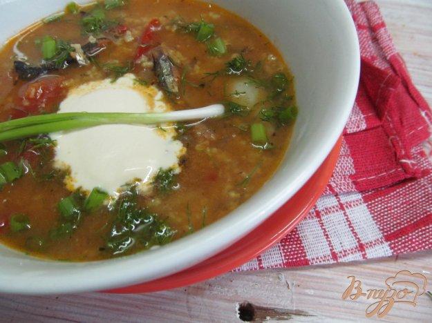 фото рецепта: Суп из кильки в томате