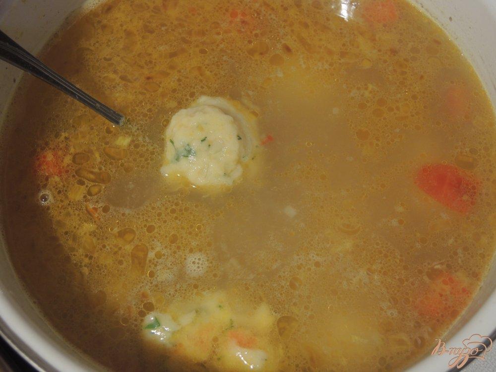 Суп с готовыми клёцками пошаговый рецепт