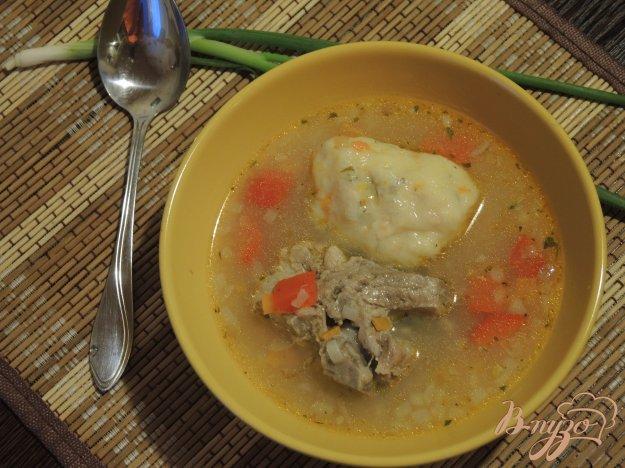 фото рецепта: Суп с картофельными клецками