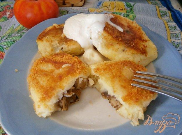 фото рецепта: Картофельные зразы с грибами