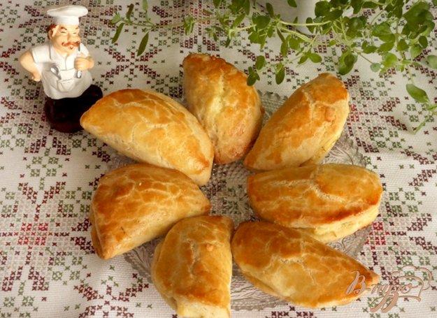 фото рецепта: Несладкие сочни с сыром и болгарским перцем