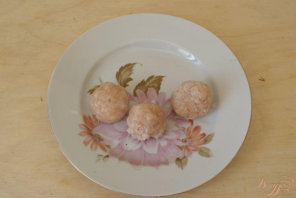 Рецепт Детский борщ с куриными фрикадельками