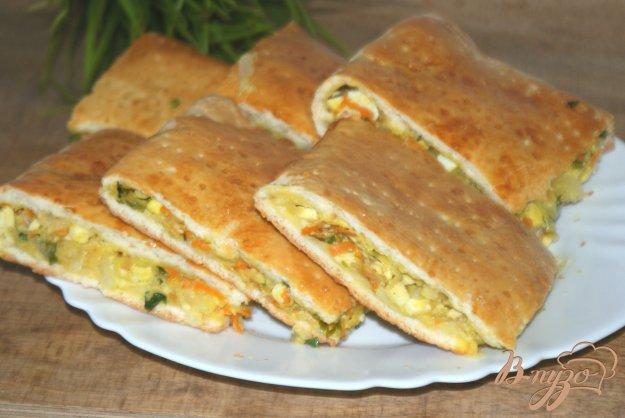 Пироги с капустой и яйцом рецепт пошагово
