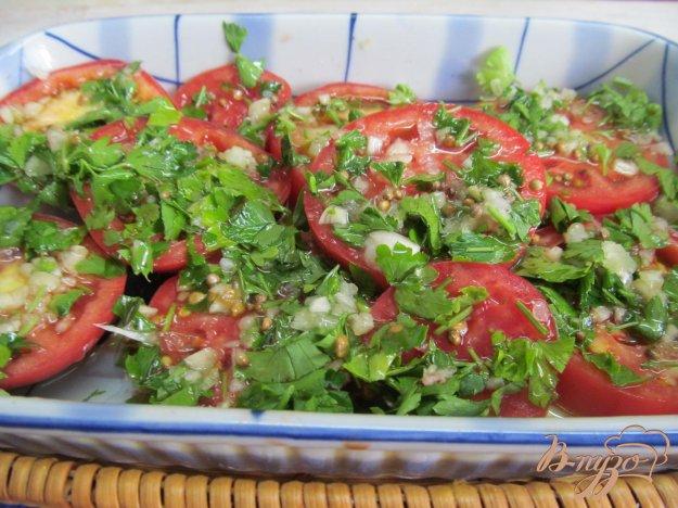 фото рецепта: Экспресс маринованные помидоры