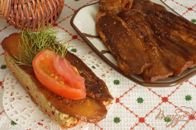 фото рецепта: Вяленые баклажаны в сушилке+кабачки