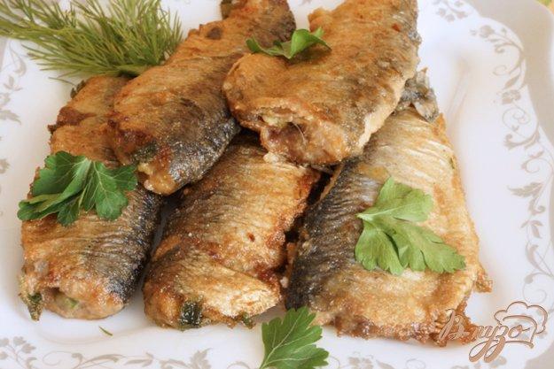 фото рецепта: Рыба с зеленью