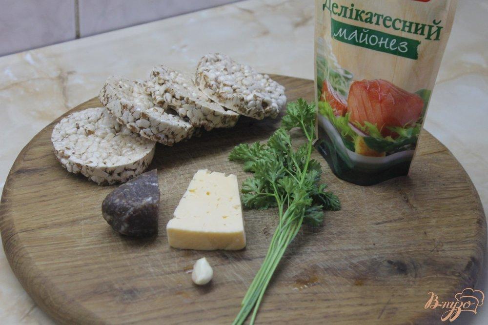Закуска с хлебцамиы с фото