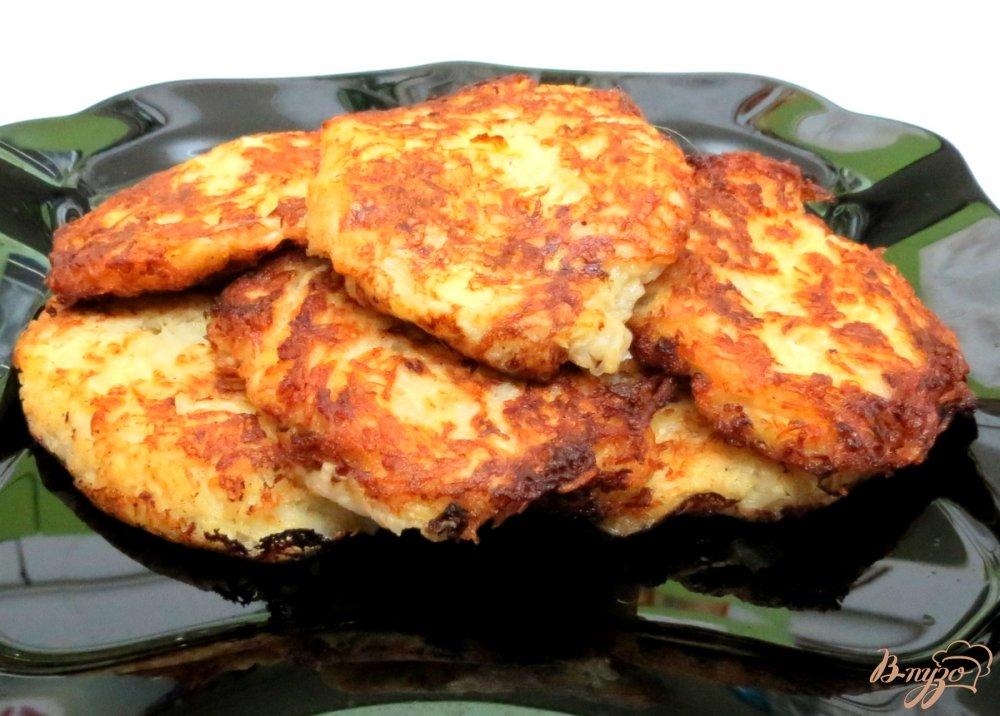 Драники из вареной картошки рецепт с фото