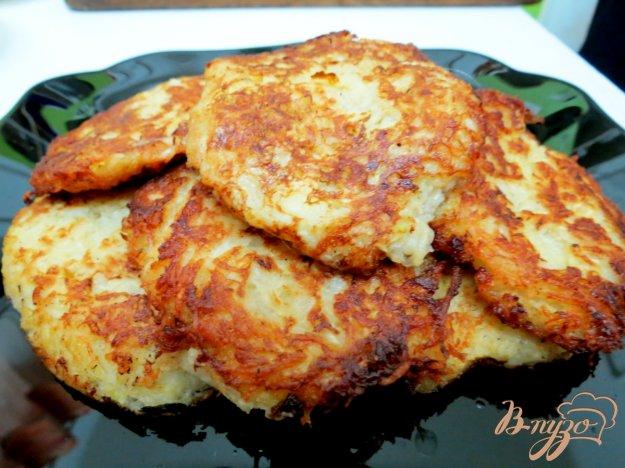 фото рецепта: Картофельно кабачковые драники