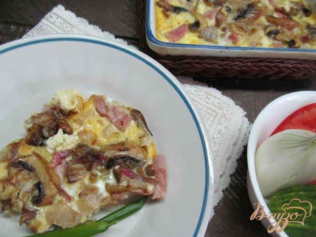 фото рецепта: Запеканка из картофеля с шампиньонами