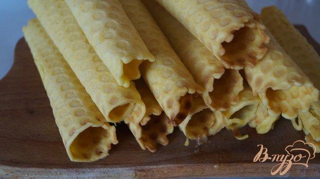 фото рецепта: Вафельные трубочки