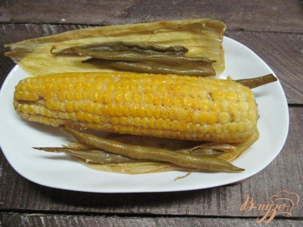 фото рецепта: Кукуруза запеченная в фольге