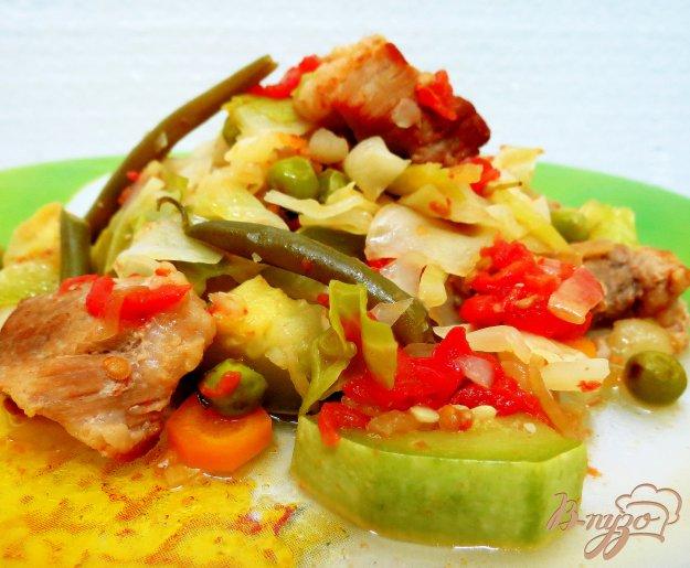Картошка рагу с мясом рецепт с пошагово