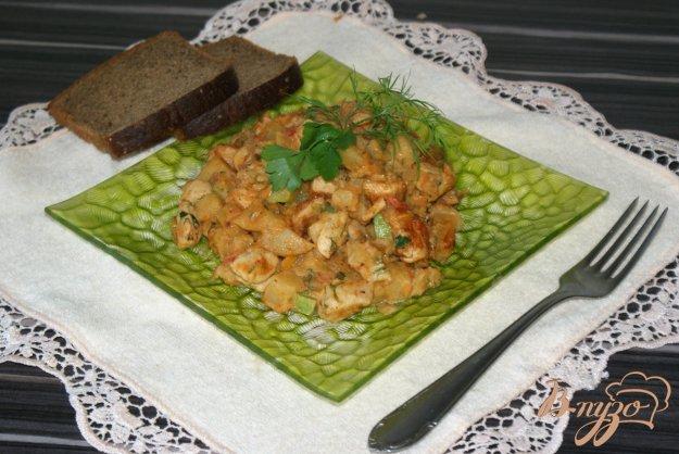 курица в казане с овощами рецепты с фото