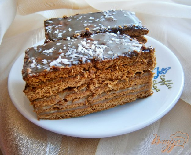 Медовик шоколадный рецепт пошаговый